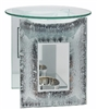 Frosted Ice Glass Panel  Oil Burner 14cm