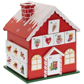 Cottage  Advent Calendar 20cm