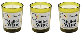 Bottled Up Mini Candle Set Mulled Wine 6cm