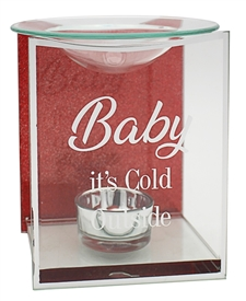 Baby Its Cold Outside Oil Burner 14cm