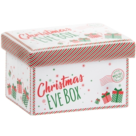 Collapsible Ottoman Christmas Eve Box 35cm