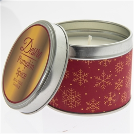 Desire Candle In Tin Pumpkin Spice 7cm