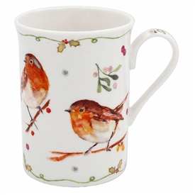 Winter Robin Mug