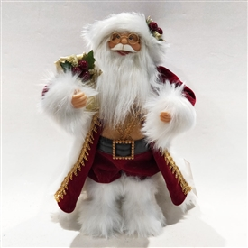 Standing Santa Decoration � Red 12�