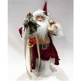 Standing Santa Decoration � Red 18�
