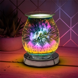 Touch Sensitive Round Aroma Lamp � Santa Sleigh