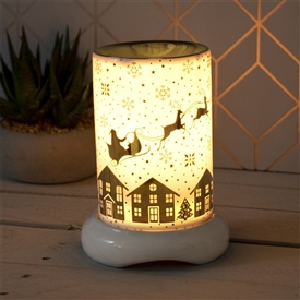 Xmas Aroma Lamp With Dimmer � Santa Sleigh