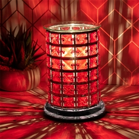 Crystal Touch Sensitive Aroma Lamp Red