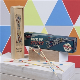 Retro Wooden Pick Up Sticks Pack