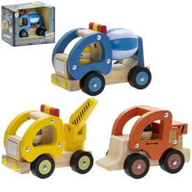 Retro Truck Toy 3 Assorted