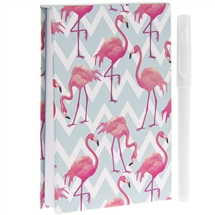 Flamingo Bay Memopad with Pen