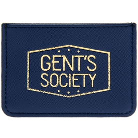Gent's Society Card Wallet