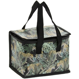 Green Lunch Bag with a Jungle Fever Design