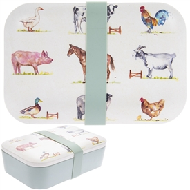 Country Life Bamboo Lunch Box
