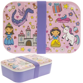 Children's Bamboo Lunch Box Fairy Tale
