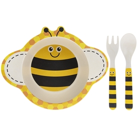 Bamboo Eating Set Bee