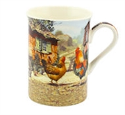 Cockerel & Hen Mug