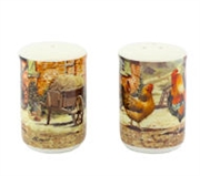 Cockerel & Hen Salt & Pepper Set