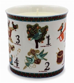 12 Days Of Christmas Candle