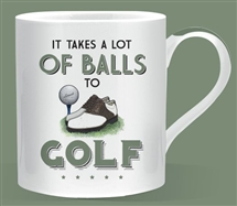 Lots of Balls Golf Mug