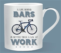 Behind Bars Cycling Mug