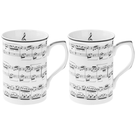Making Music Mugs Set of 2