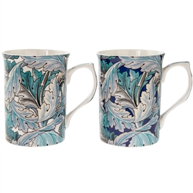 Set Of 2 Acanthus Mugs