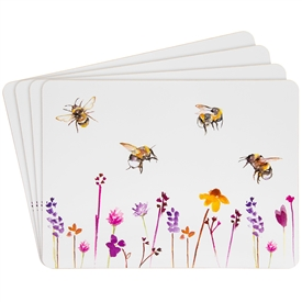 Cork Busy Bees Placemats Set of 4