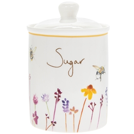 Ceramic Busy Bees Sugar Canister