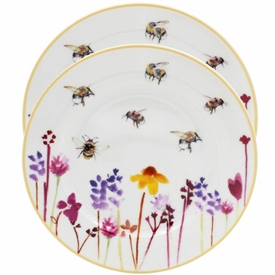 Busy Bee Plate Set