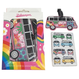 Volkswagen Passport Holder And Luggage Tag Set 14cm