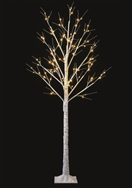 1.5m LED Birch Tree