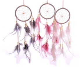 Feather Dreamcatcher 3 Assorted 30cm