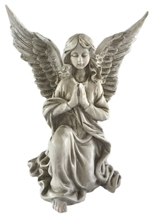 32.5cm Kneeling Praying Angel - Right