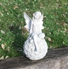 22cm Sitting Fairy on Filigree Ball