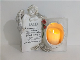 Dad Memoral Book With LED Candle