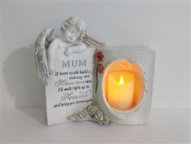 Mum Memoral Book With LED Candle