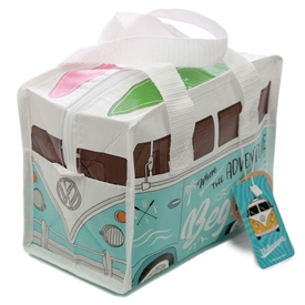 Volkswagen Blue Campervan Lunch Bag 21cm