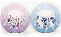 Meadow Clock 30cm 2 Assorted