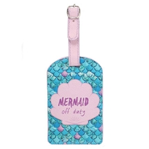 Mermaid Off Futy Luggage Tag 17cm