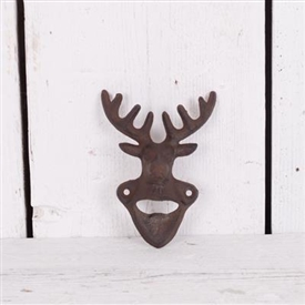 Wall Mounted Cast Iron Stag Bottle Opener