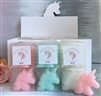 Pack of 6 Unicorn Shaped Scented Melts - 3 Assorted