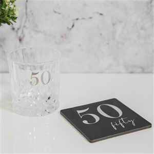 Milestone Whisky Glass Coaster Set � 50