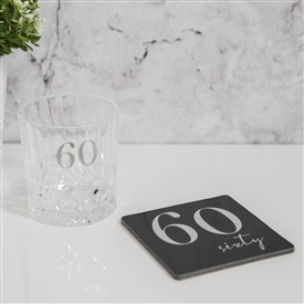 Milestone Whisky Glass Coaster Set � 60