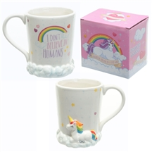 Unicorn Rainbow & Clouds Mug