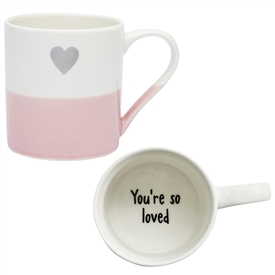 Secret Message Mug � You're So Loved