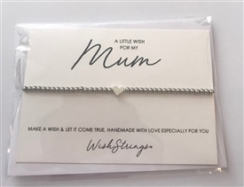Metal Wish Strings Bracelet Mum