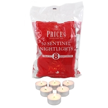 Bag Of 50 8Hr Burn Tealights