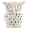 White Ceramic Owl Burner 11cm