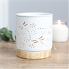 Ceramic Dragonfly Cut Out Oil Burner 12cm